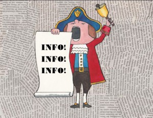 Town Cryer (Crier) for Website - Info block